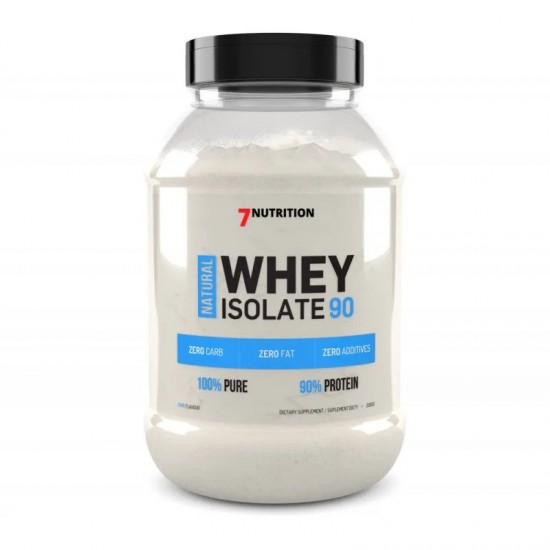 7 Nutrition Whey Protein Isolate 90 2kg