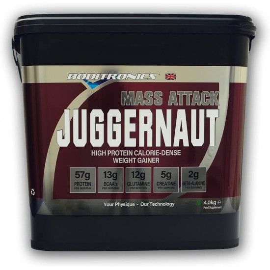 Boditronics Mass Attack Juggernaut 4kg
